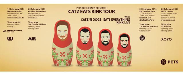 Catz Eats Kink de gira Europea