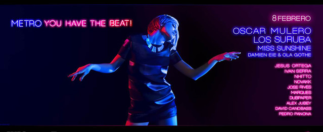 Metrodanceclub presenta la fiesta Metro, You Have The Beat!