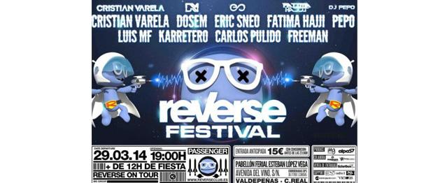 Reverse Festival aterrizará en Valdepeñas