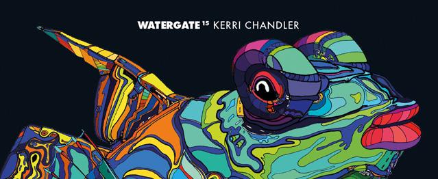 Kerri Chandler mezclará el próximo recopilatorio de Watergate