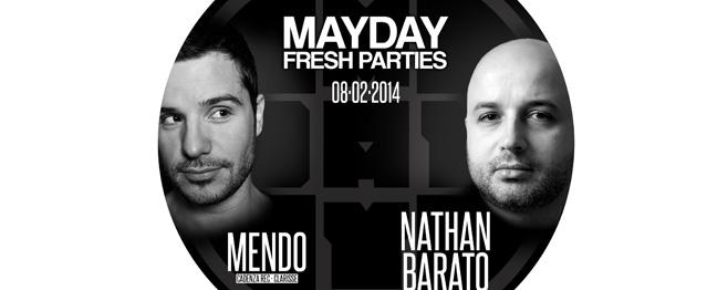 Mendo y Nathan Barato en Mayday