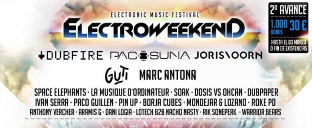 Electro Weekend cierre el line-up de su 2º edición