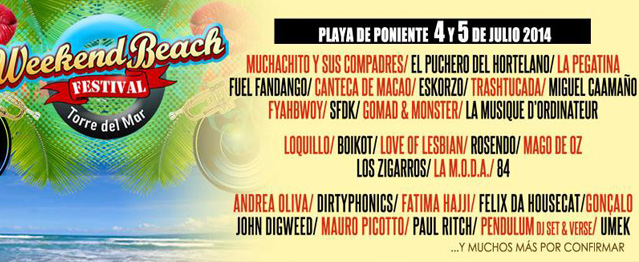 Weekend Beach anuncia más artistas electrónicos