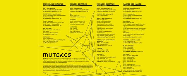Pistoletazo inicial de la quinta edición de Mutek [ES]