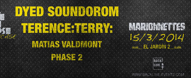 Dyed Soundorom y Terence: Terry en Marionnettes