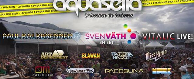 Nuevos artistas confirmados para Aquasella 2014
