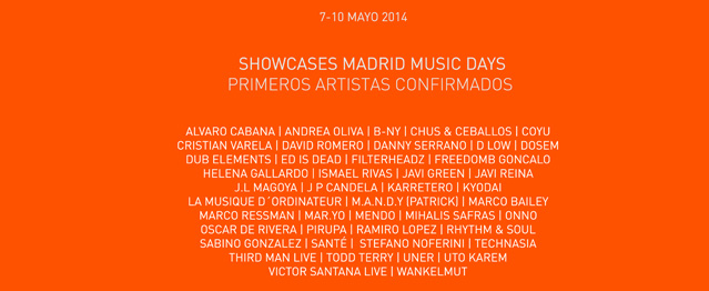 Madrid Music Days, showcases y nuevos ponentes