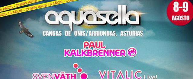 Aquasella 2014 cierra su line-up