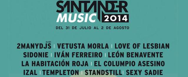 Santander Music incorpora nuevos artistas