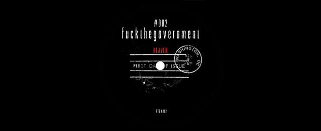 FUCKTHEGOVERMENT tienen nueva release