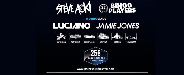 Jamie Jones y Bingo Player a Motor Sound Festival