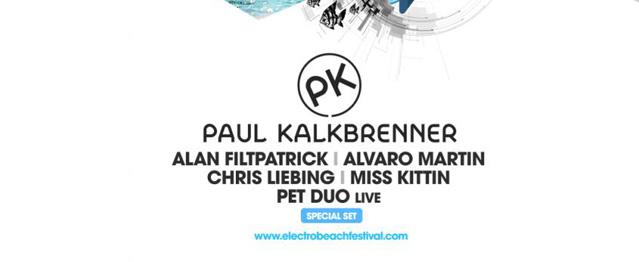 Paul Kalkbrenner encabeza el 2ºAvance de Electrobeach