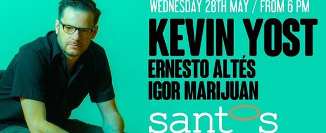 Kevin Yost recala mañana en Santos Coast Club