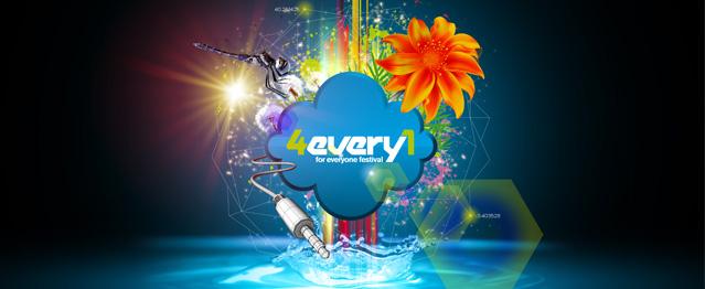Los horarios de 4Every1 Festival