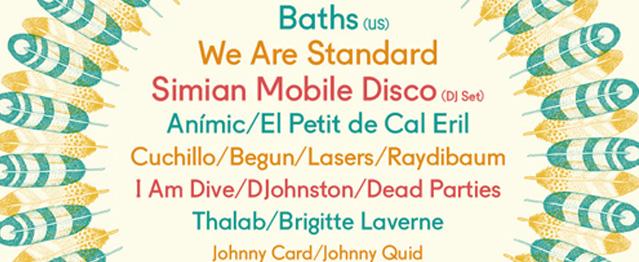Line-up completo de Festival'ERA con las incorporaciones de Baths y SMD