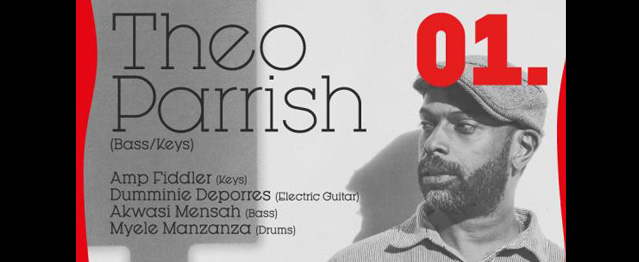 Theo Parrish y su espectáculo Teddy´s Get Down en Madrid