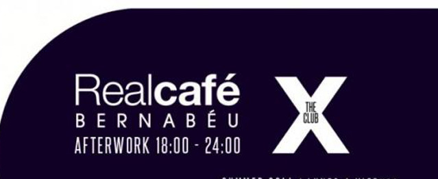 The X Club se muda al Real Café Bernabeu en verano