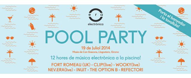 Pool Party de ERA Electrónica este sábado