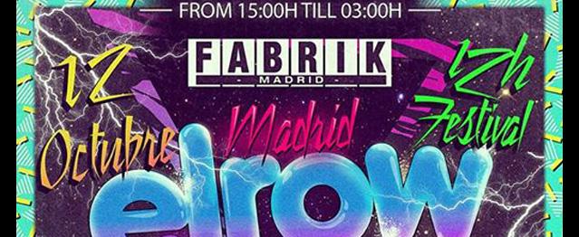ElRow llegará a Fabrik en octubre