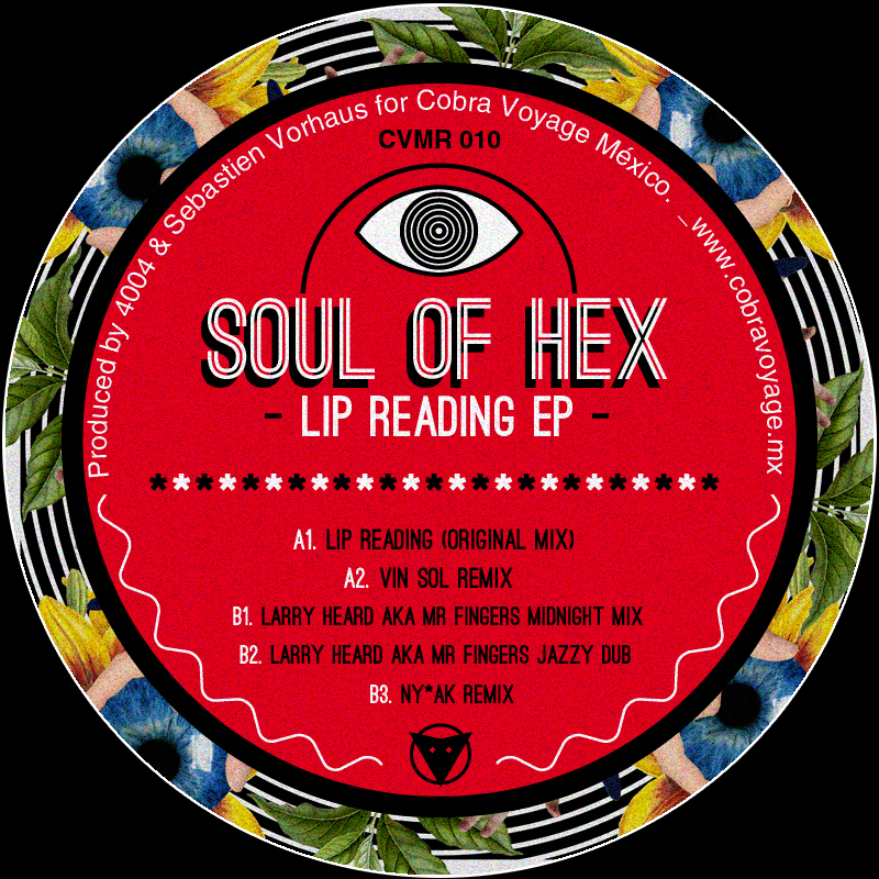 'Lip Reading' EP (Incl. Larry Heard Remixes)