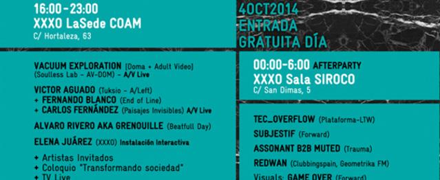 XXXO Festival, una jornada de arquitectura sonora