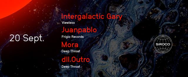 Zodiac aterriza en Siroco y trae a Intergalactic Gary