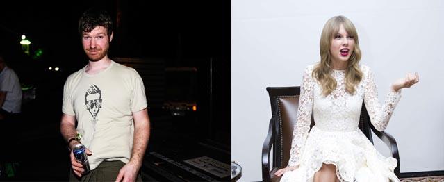 La asombrosa unión entre Aphex Twin y Taylor Swift