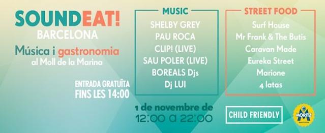 Nace SoundEat, un evento que une música electrónica y gastronomía