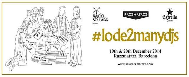 Conoce el cartel completo de #lode2manydjs