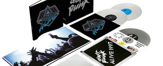 "Daft Punk reeditan en vinilo sus ""Alive"""