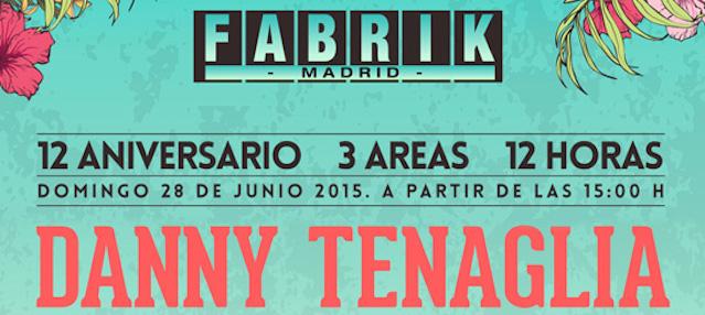 Concurso Fabrik Aniversario: 5 entradas dobles