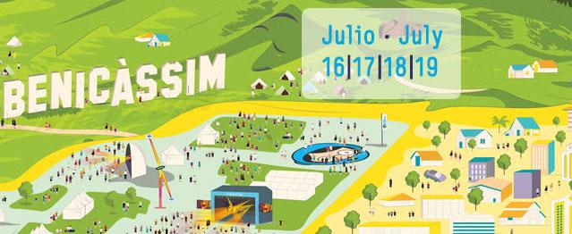 Primer avance del festival de Benicàssim