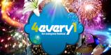 Concurso 4Every1: 10 packs de GAFAS + MOCHILA FESTIVALERA