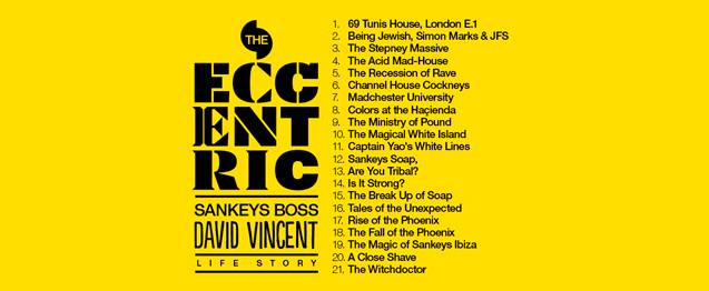 David Vincent prepara una excéntrica autobiografía