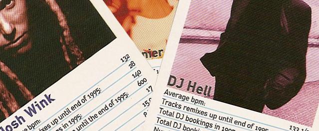 Rescatan una colección de cromos de djs del 96