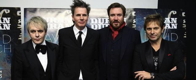 Constelación de estrellas para lo nuevo de Duran Duran