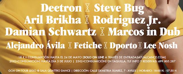 Concurso Goa Asturias: 3 entradas individuales