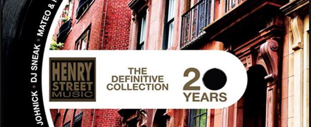 20 Años del house de Henry Street Music en 3 vinilos
