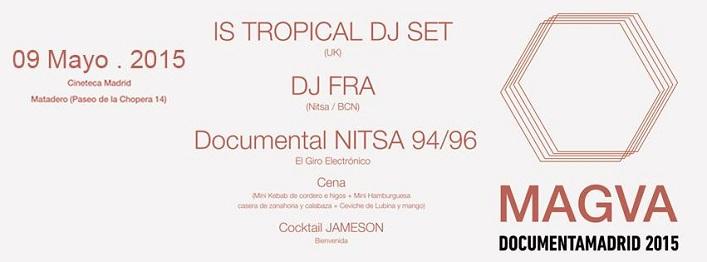 """Is Tropical, DJ Fra, """"El Giro Electrónico"""" y gastronomía"""