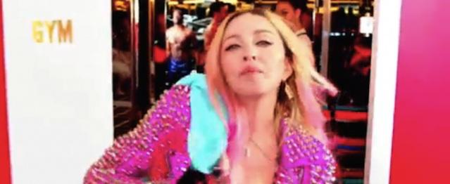 Madonna invita a todo dios a aparecer en su nuevo videoclip