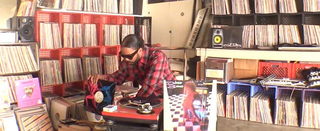 Descubre la colección de vinilos de Dâm-Funk