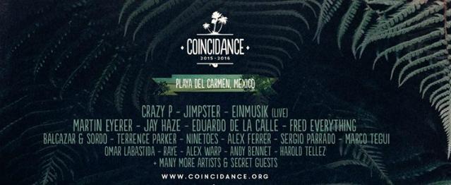 Coincidance Festival: Nochevieja en Playa del Carmen