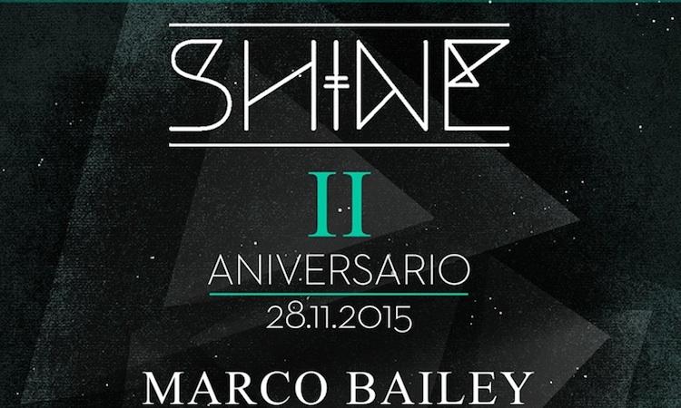 Shine celebra su 2º aniversario en La Riviera con Marco Bailey y Exium