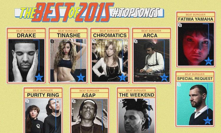 Las mejores canciones de 2015