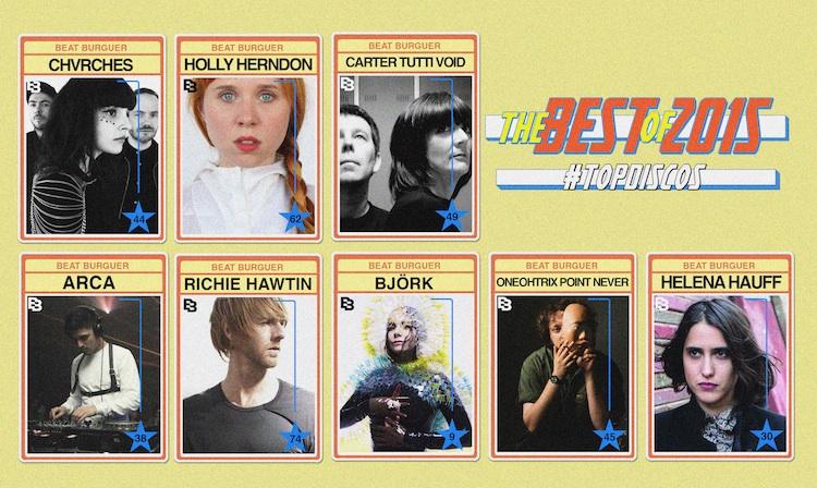 Los mejores discos de 2015