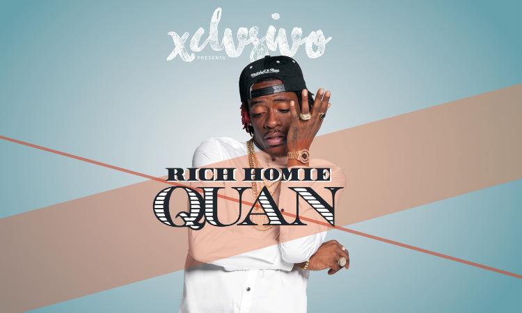 Rich Homie Quan llega mañana a Barcelona de la mano de Xclvsivo