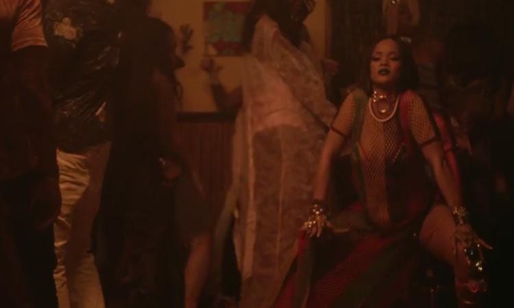 "Rihanna estrena un doble videoclip para ""Work"""