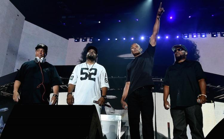 N.W.A. se reúnen en el concierto de Ice Cube en Coachella