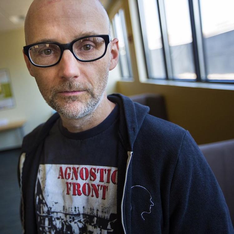 Moby regala un disco ambient de cuatro horas