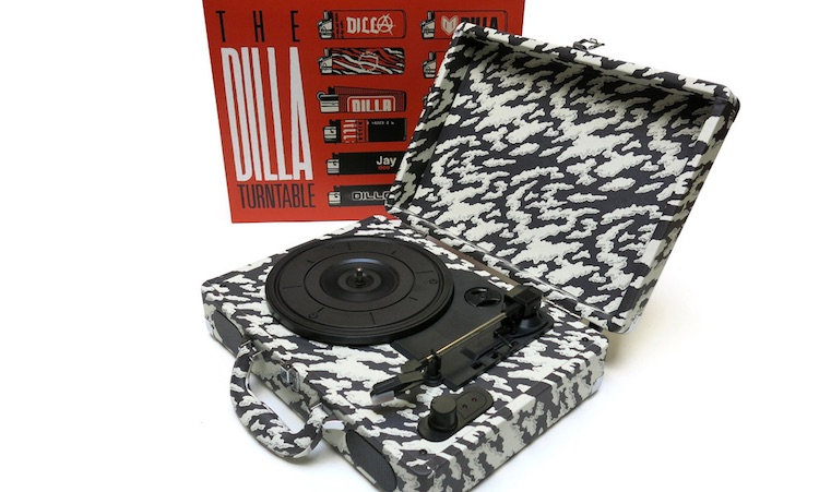 J Dilla tendrá su propio tocadiscos portátil